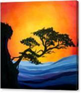 A Brilliant Bonsai Canvas Print