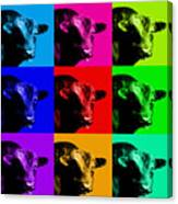 A Bunch Of Bull Canvas Print