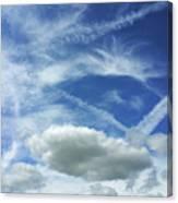 A Busy Sky Canvas Print