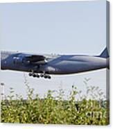 A C-5a Galaxy Of The U.s. Air Force Canvas Print