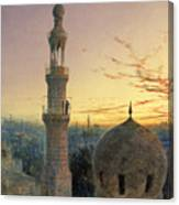A Call To Prayer Canvas Print