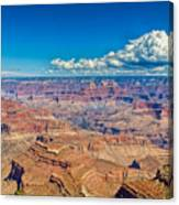 A Canyon Grand Canvas Print