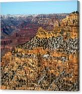 A Canyon Winter Canvas Print