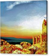 A Castle In Spain Canvas Print