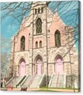 A Catholic Parish Canvas Print