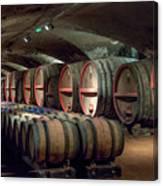 A Cellar Of Burgundy Canvas Print