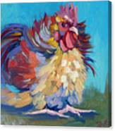 A Chicken Day Canvas Print
