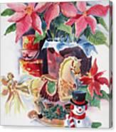 A Christmas Fantasy Canvas Print