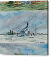 A Church For All Seasons Canvas Print
