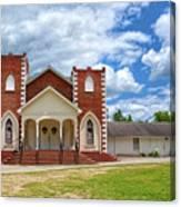 A Church In Sc Canvas Print