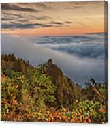 A Cloudy August Morning Canvas Print