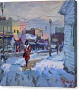 A Cold Afternoon In Tonawanda Canvas Print