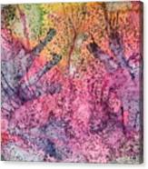 A Colorful Lecture On Glitter Canvas Print