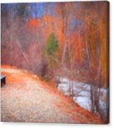 A Colourful Winter Canvas Print