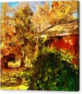 A Corner Of Autumn  Canvas Print