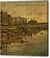 A Cote De La Mer Canvas Print
