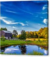 A Country Place Canvas Print