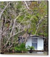 A Cozy Spot On The Apalachicola River Canvas Print