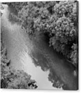 A Creek Runs Through It -- 2 Canvas Print