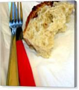 A Crust Of Bread Canvas Print