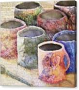 A Cuppa Canvas Print