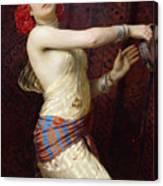 A Damascan Dancer Canvas Print
