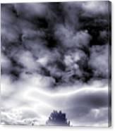 A Dark Heaven's Storm Canvas Print
