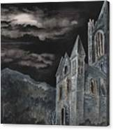 A Dark Strange Night  Canvas Print