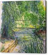 A Day At Giverny Canvas Print