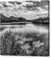A Day At The Lake Canvas Print