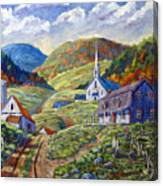 A Day In Our Valley Canvas Print