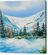 A Day In Tuckerman's Canvas Print
