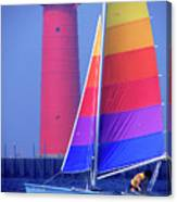 A Day Of Sailing Canvas Print