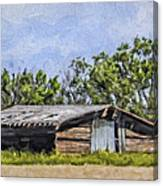 A Deserted Farm Canvas Print