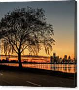 A Detroit Sunset - The View From Belle Isle Canvas Print