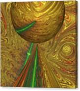 A Different Planet Canvas Print