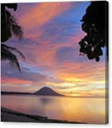 A Distant Island Canvas Print