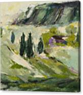 A Distant Rim Canvas Print