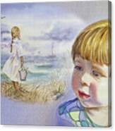 A Dream Of An Ocean Canvas Print