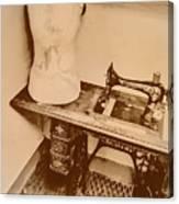 A Dressmakers Corner Canvas Print