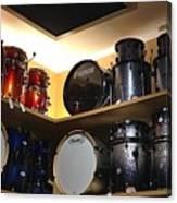 A Drummer's Dream Canvas Print