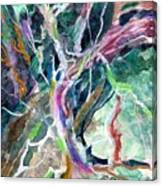 A Dying Tree Canvas Print