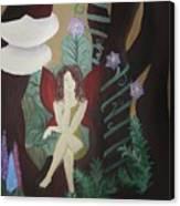 A Fairy's Sigh Canvas Print