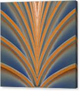 A Fan Of Art Deco Canvas Print