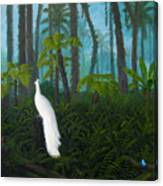A Fantasy In White Canvas Print