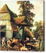 A Farm In Kent Canvas Print