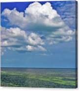 A Few Clouds In Keywest Canvas Print