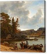 A Finnish Seascape Canvas Print