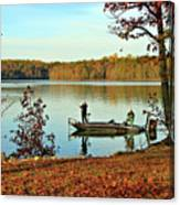 A Fishing We Will Go Canvas Print
