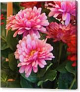 A Fresh Bouquet Canvas Print